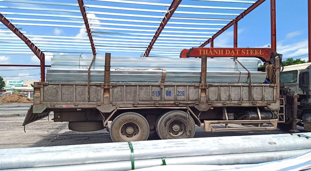 Ứng dụng của sản phẩm thép hộp Hòa Phát cho công trình