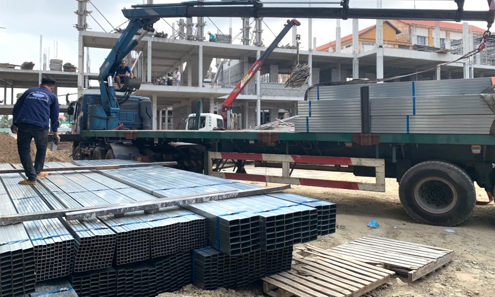 Thép hộp chữ nhật Hòa Phát phân phối tại Thành Đạt Steel